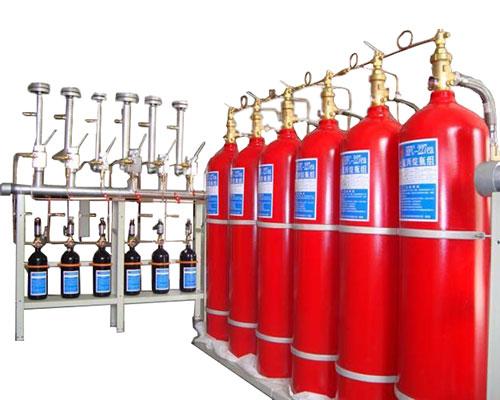 有管网七氟丙烷气体灭火系统