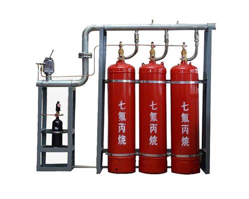 有管网七氟丙烷自动灭火系统