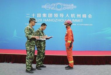 2600余名消防官兵全力护航G20杭州峰会安全